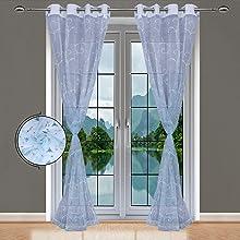 Sky Sheer Curtains