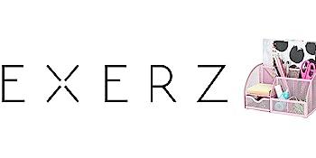 Exerz Desk Organiser/Mesh Desk Tidy/Pen Holder/Multifunctional Organizer