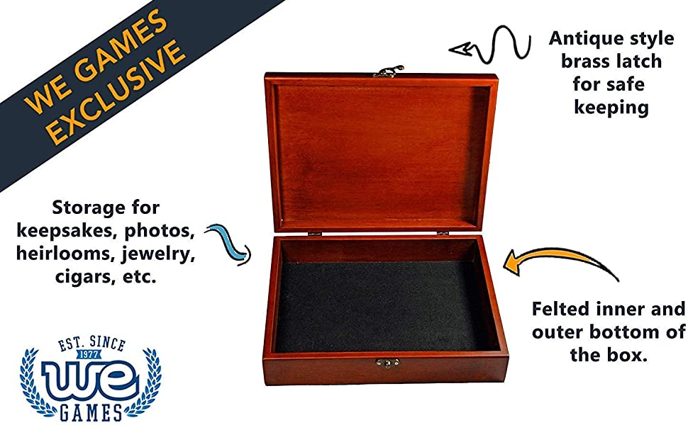 redwood treasure box