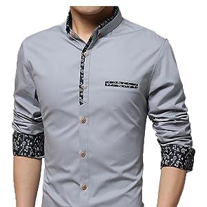 Mens Grey Shirt