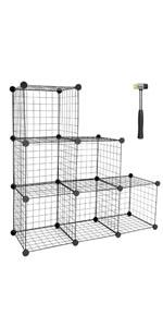 Wire Cube Storage