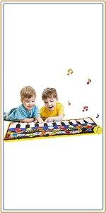 8種楽器のピアノおもちゃ