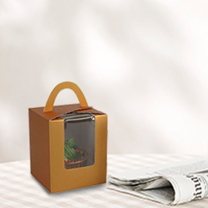 Kraft Paper Cupcakes Boxes