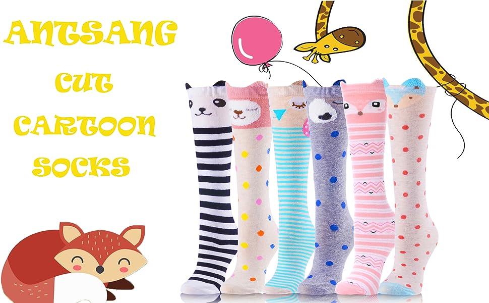 Shires Everyday Knee High Boot Socks Fun Colorful Animal Prints