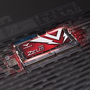 TEAMGROUP T-FORCE ZEUS DDR4 SODIMM LAPTOP MEMORY MODULE