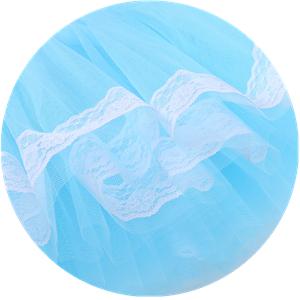 TM Fille Justaucorp Danse Tutu Ballet Points Mignonne Performance Robe Manches Courtes avec Serre-t/ête pour Enfant Color/é