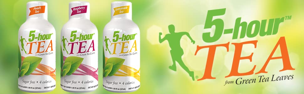 5-hour tea energy shot drink logo