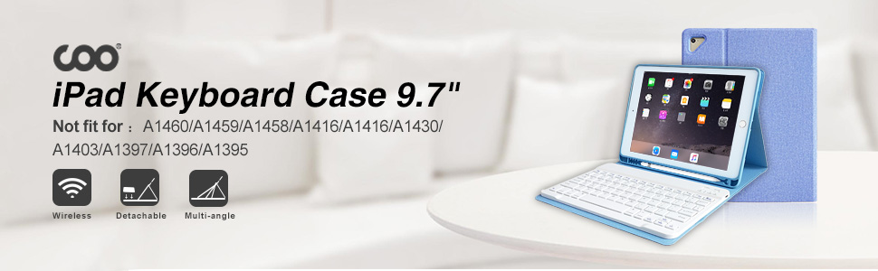 iPad Keyboard Case 9.7