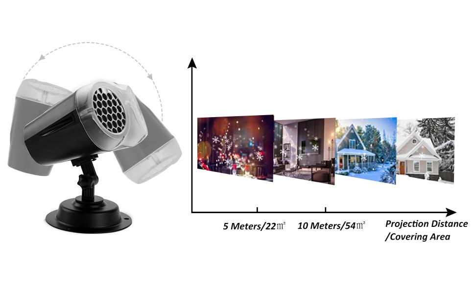 Коледни светлини за проектор 2