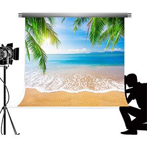 Kate Foto Requisiten Strand 2 2x1 5m Blau Hintergrund Kamera