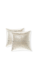 glitter pillow silver silver pillow small pillow shams decorative for living room textile case