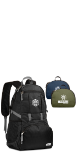 packable daypack, hiking daypack, daypack for travel, compressible daypack