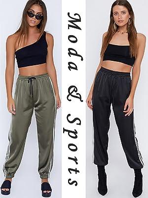 Pantalone sportivo classico, laccetto in vita, con elastico alla caviglia e tasche laterali.