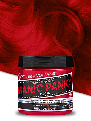 Manic Panic Red Passion Hair Dye Classic 3 Pack Beauty