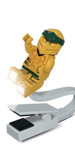 LEGO Ninjago Legacy Gold Ninja Book Light