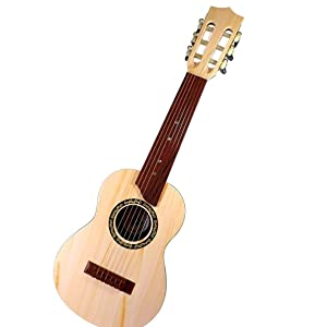 "Toyshine 6-String 24"" Acoustic Guitar Kids Toy, Brown"