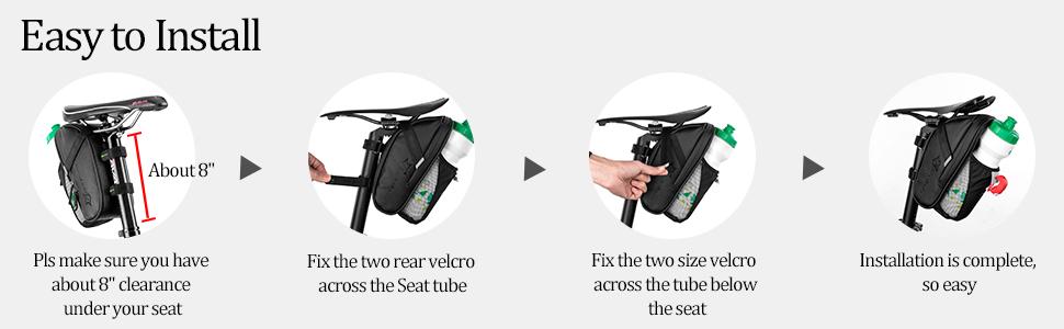Waterproof Bike Bags Under Seat