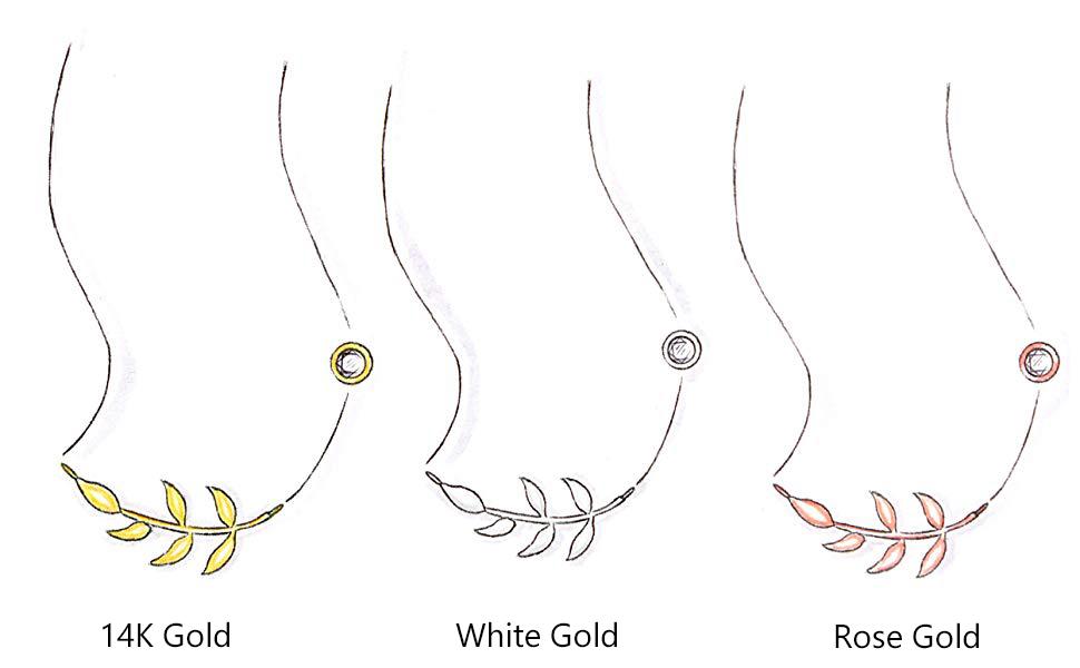 leaf jewelry