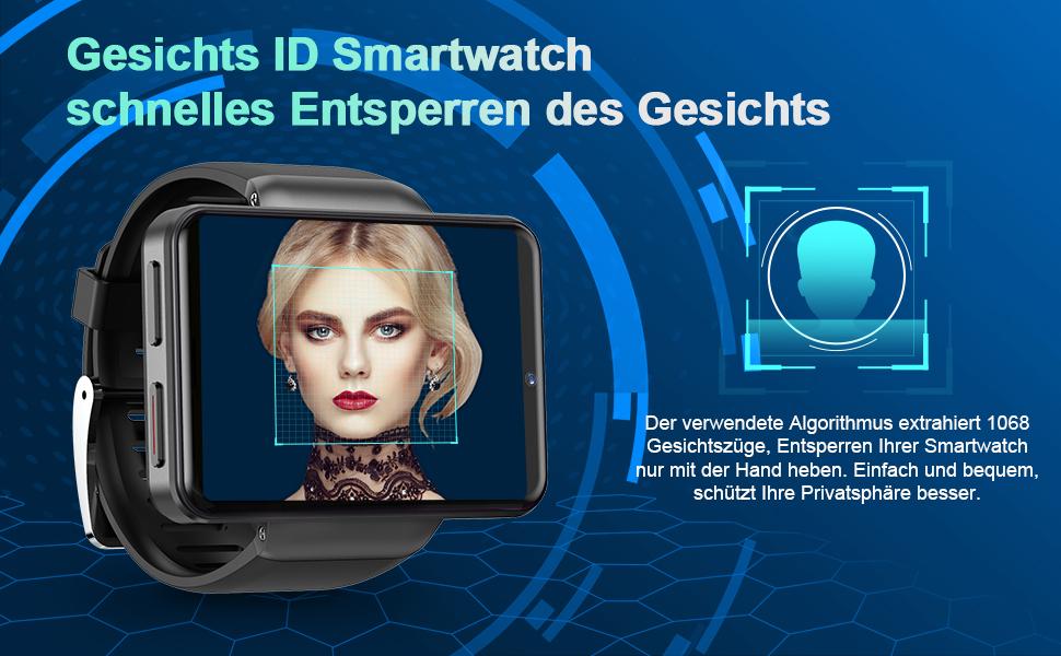 smartwatch mit gesichts ID