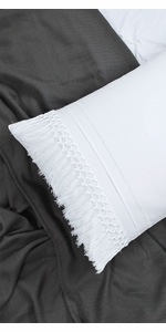 tassel pillow shams