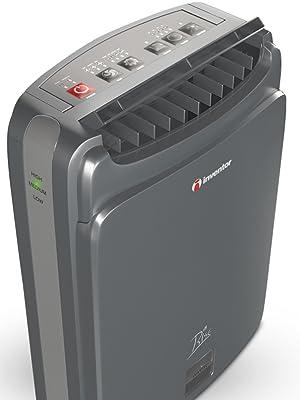 Inventor Rise 8L/24H, Déshumidificateur Déshydratant avec Zéolite et Ioniseur, Technologie Desiccant, Mode ECO/Turbo, Silencieux - Garantie de 2 Ans