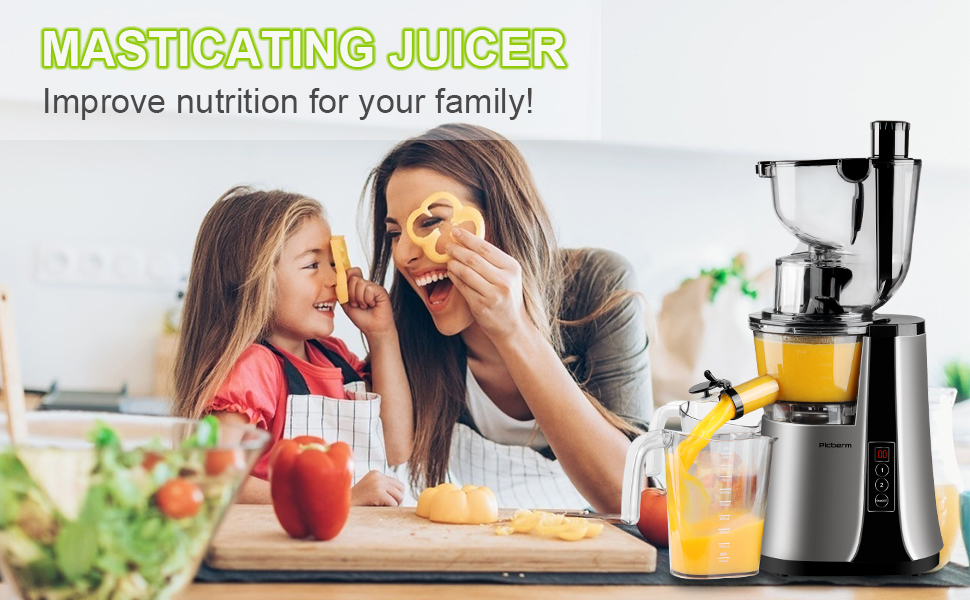 slow juicer for family