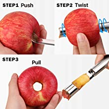 Kitchen Gadgets-Double-use fruit carving knife