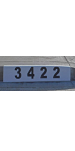 stencils numbers stencil house paint number letters for inch letter address spray