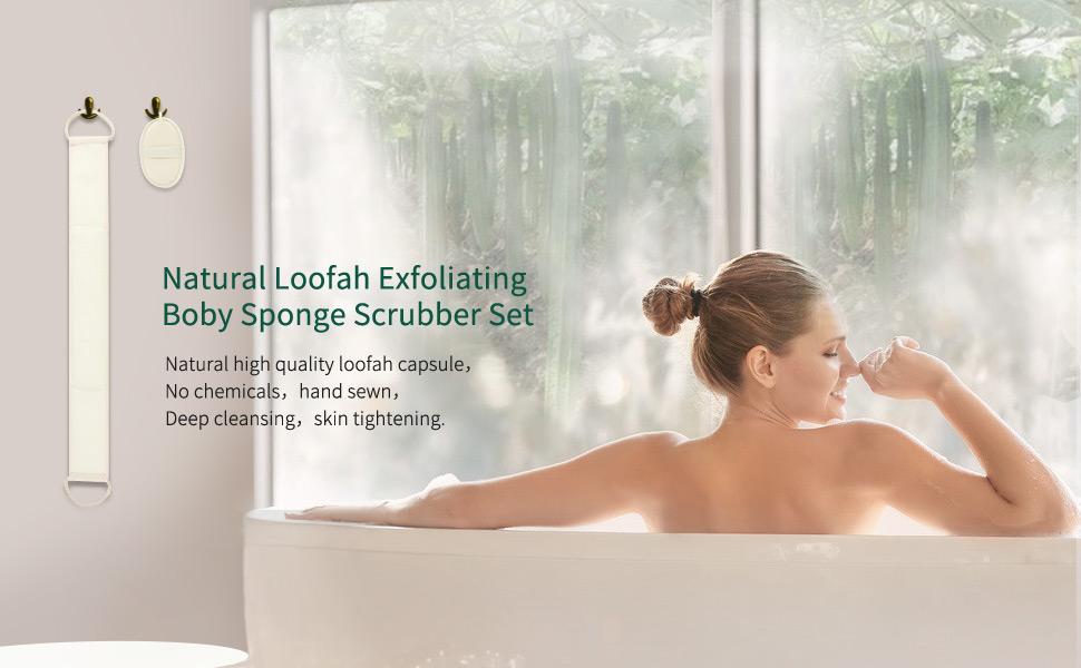 Loofah Exfoliating Back Scrubber