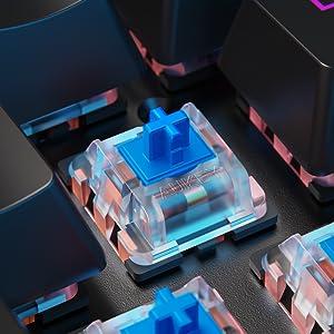 blue swtich keyboard