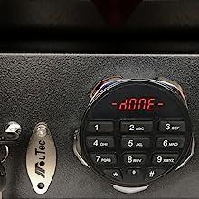 Keypad Key Gun safe