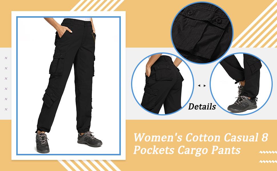 Women Cargo Pants Ladies Hunting Pants Work hiking pants womens tactical pants camo pants for women