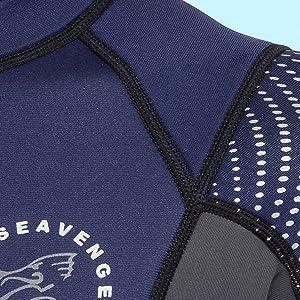 seavenger wetsuit no chafing seams