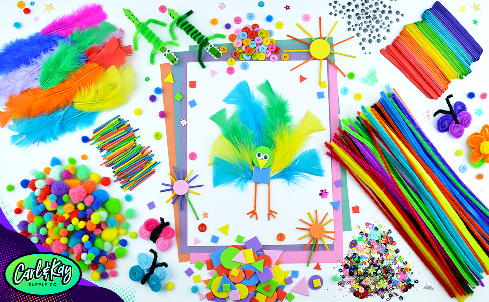 art and craft supply kit for kids