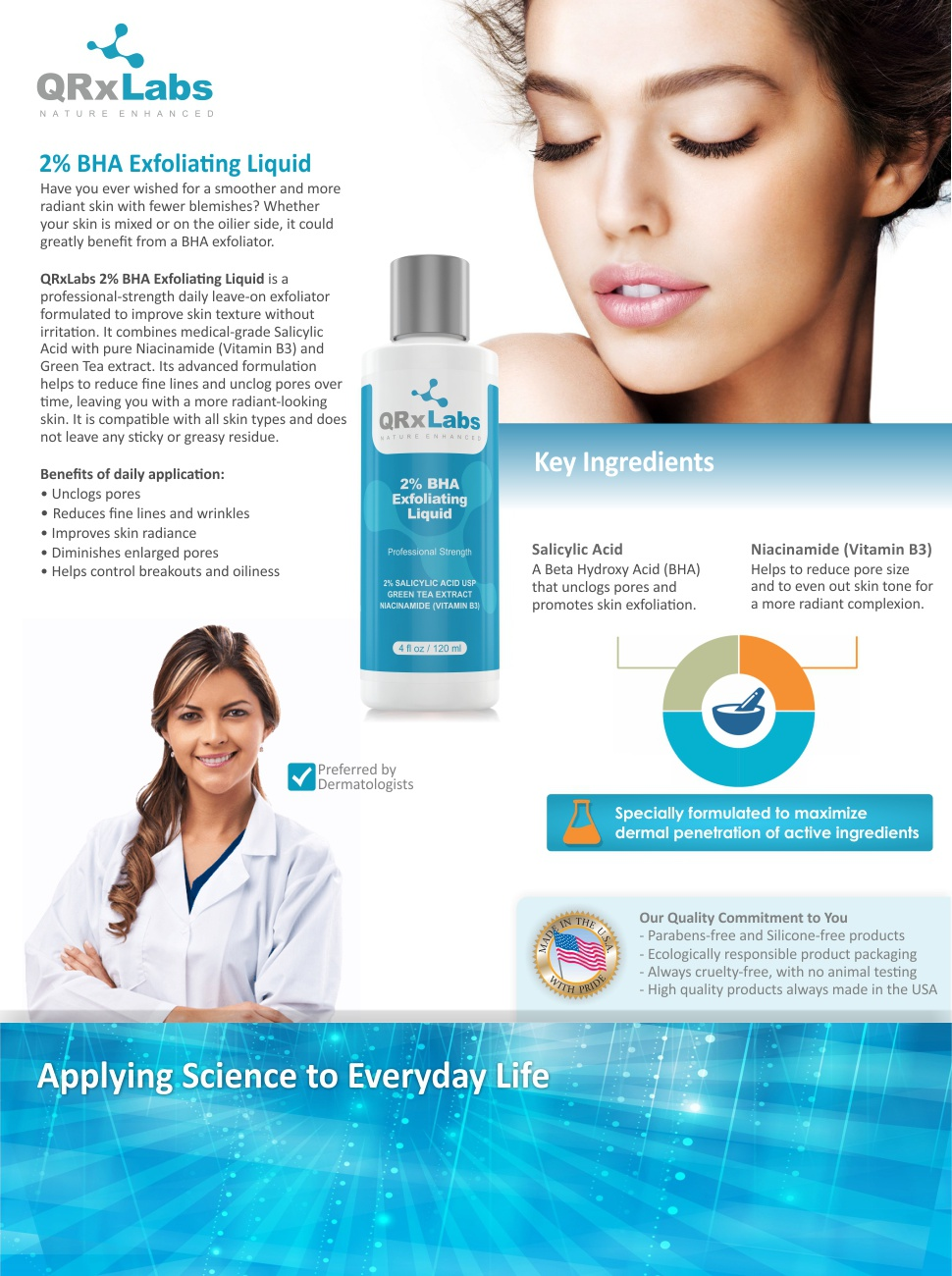 2% BHA Exfoliating Liquid Brochure
