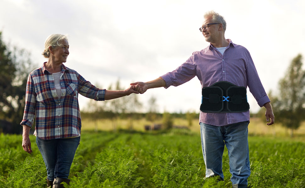 Do you or does your family member suffering with age-related back pain problems?