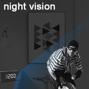 night vision hidden camera alarm clock