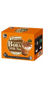 Bubble Tea Kit Creme Brulee Caramel Boba