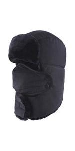 Winter Windproof Mask Ushanka Hat
