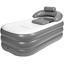 electric pump deep bubble deck portable tub warmer inflatable plastic seat birth drain play cold