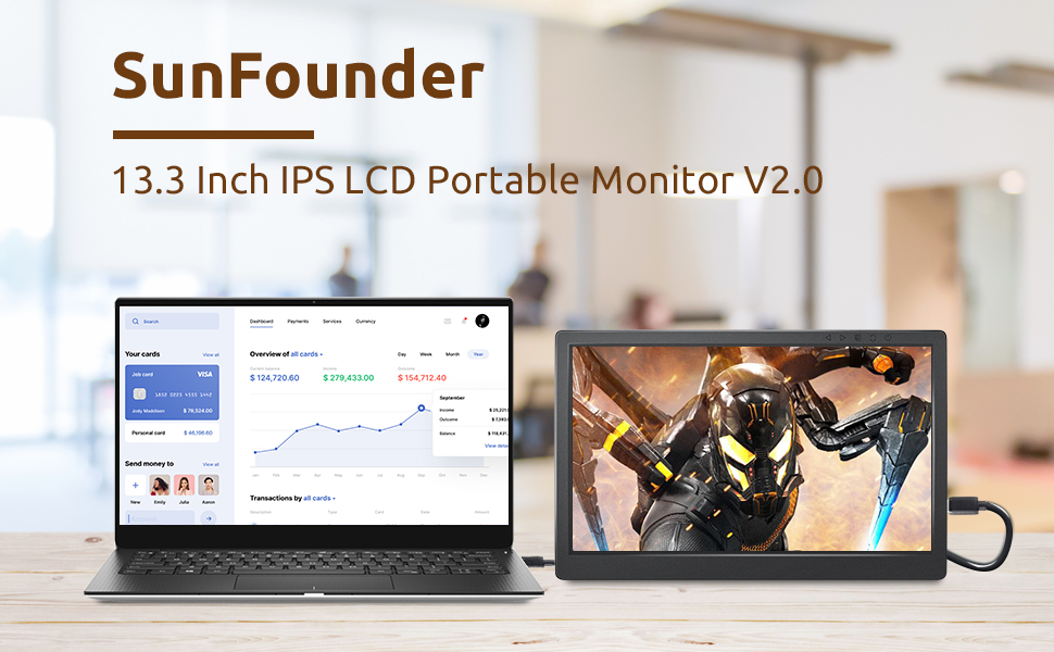 SunFounder Portable Monitor
