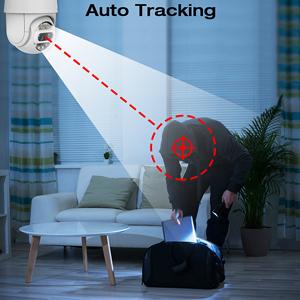 wireless security camera outdoor ptz wifi camera 1080p