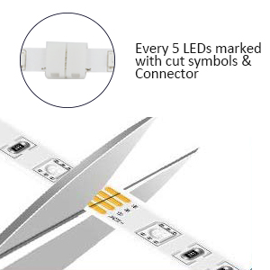 Smart WiFi LED Light Strip,5M, Compatible with Alexa,Google Home,Bedroom,TV,Kitchen,Party Decoration