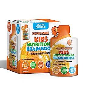 Kids Liquid Brain Boost Smoothie Snack Pouch 20-Pack