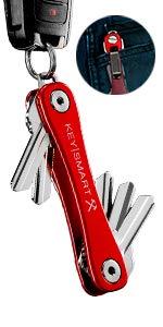 KeySmart Rugged Red