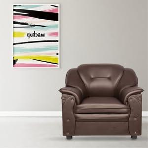 Sekar Lifestyle 1 Seater Sofa Set for Living Room SPN-FOR1