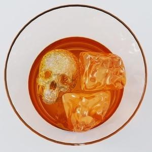 Skull in a glass