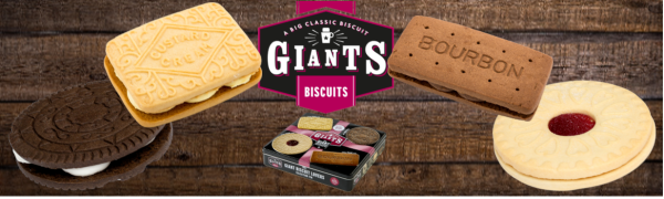 giants biscuits bakery bourbon custard cream oreo cookie jammie jammy dodger tin selection classic