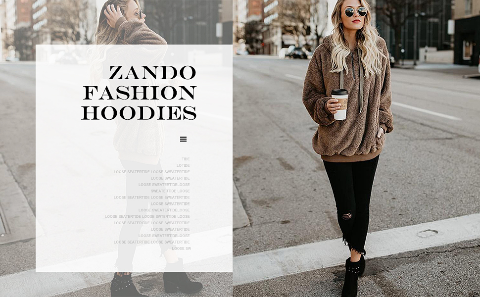zando women hoodies