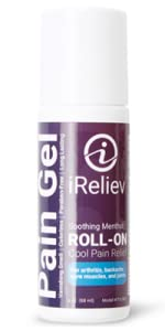iReliev topical roll on gel